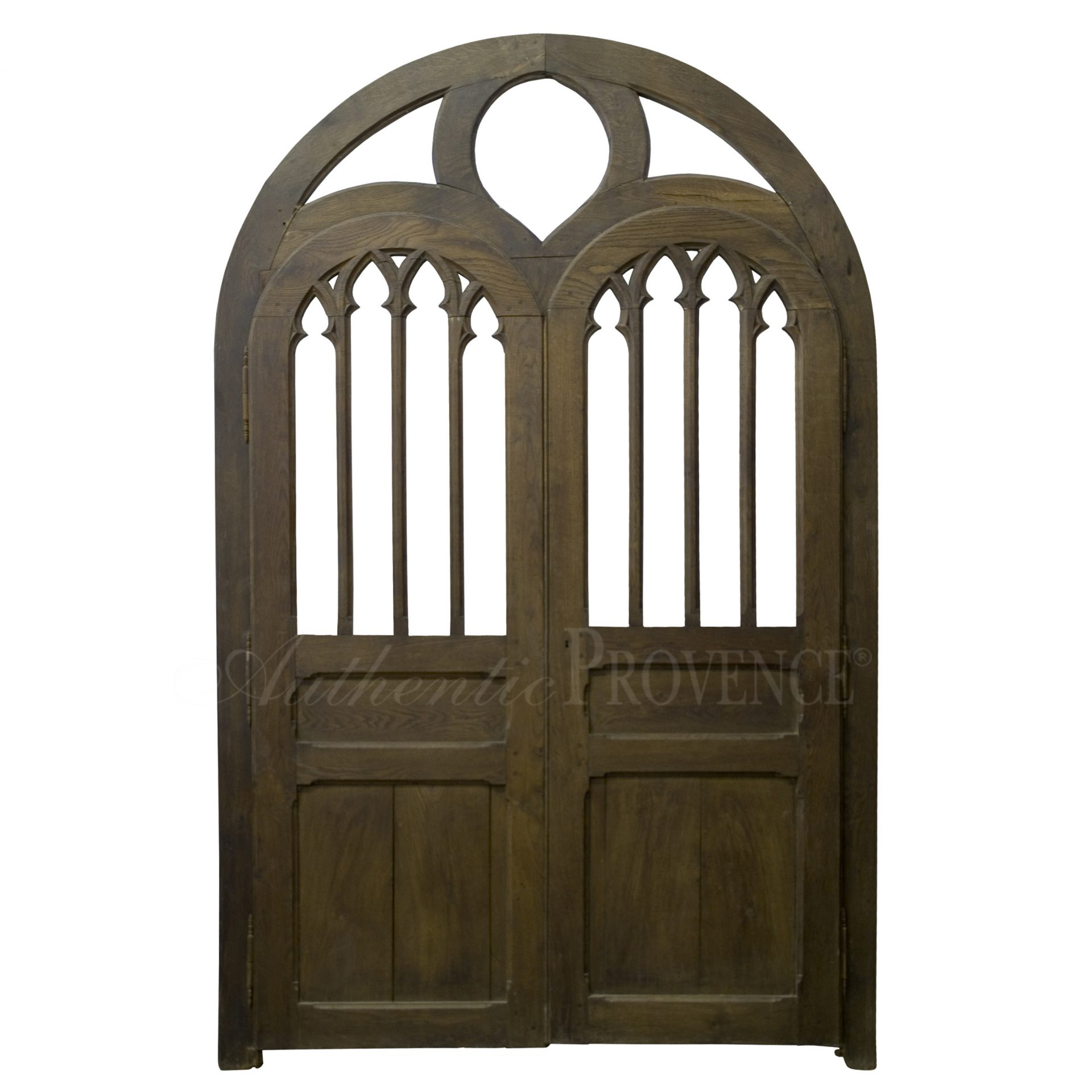 Paired Neo-Gothical Door
