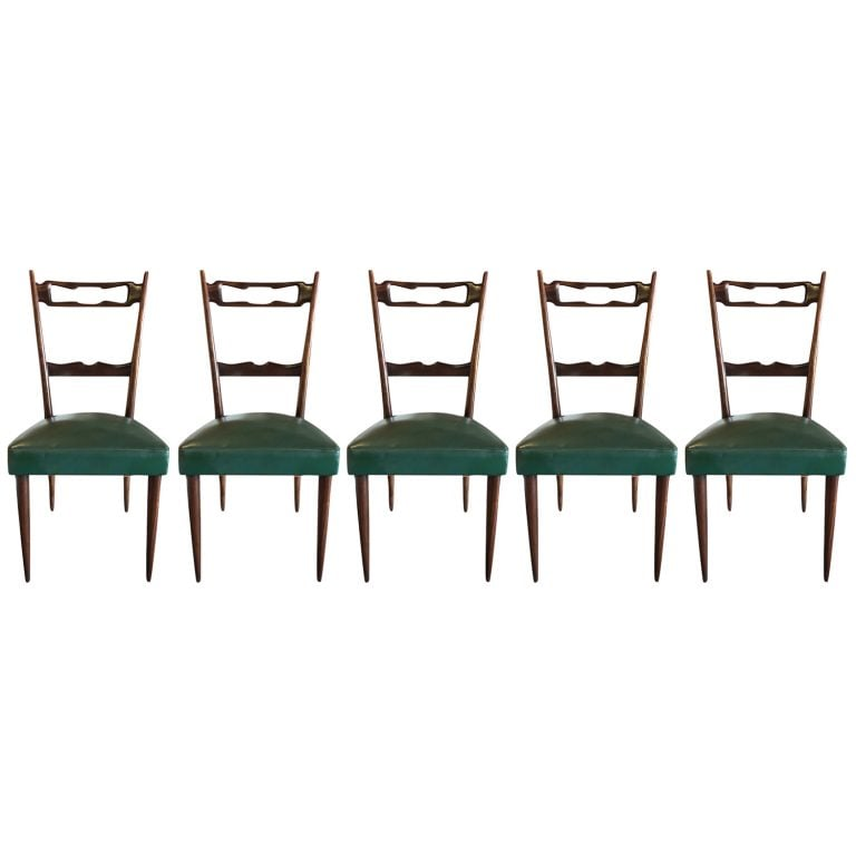 Set of Paolo Buffa Chairs