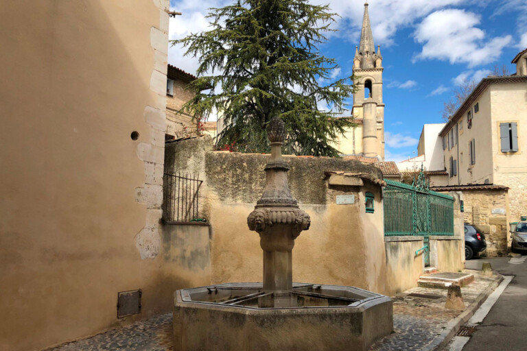 French Village Fountains