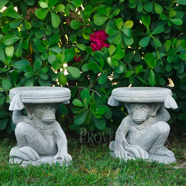 Pair of Monkey Seats With Tassels