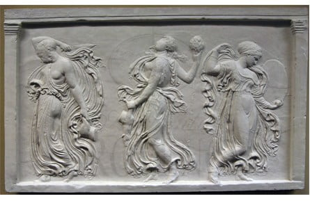 Wall Relief of the Three Charites or Graces