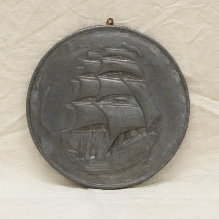 Lead Ship Plaque