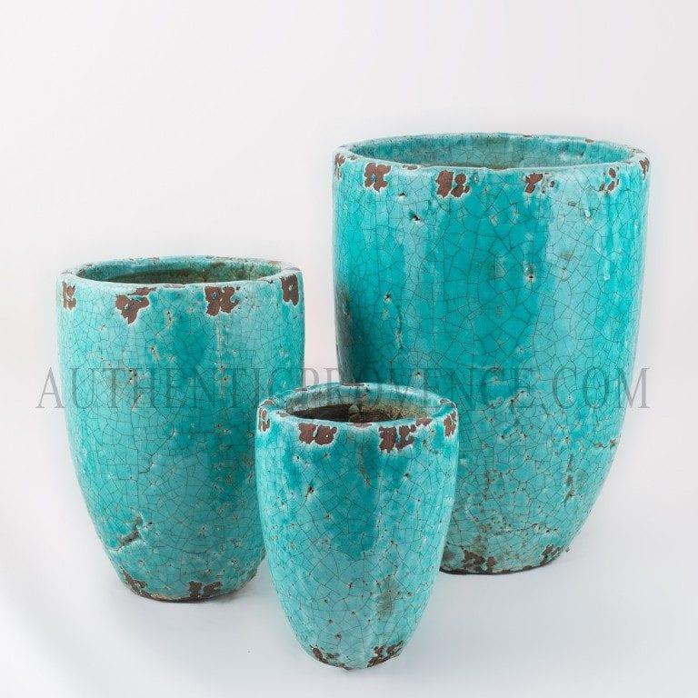 Vase Haute Turquoise