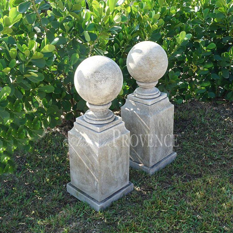 Pair of Villandry Sphere Finials