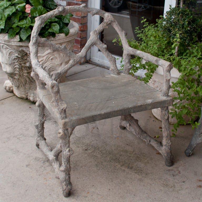 Faux Bois Chair Charleston