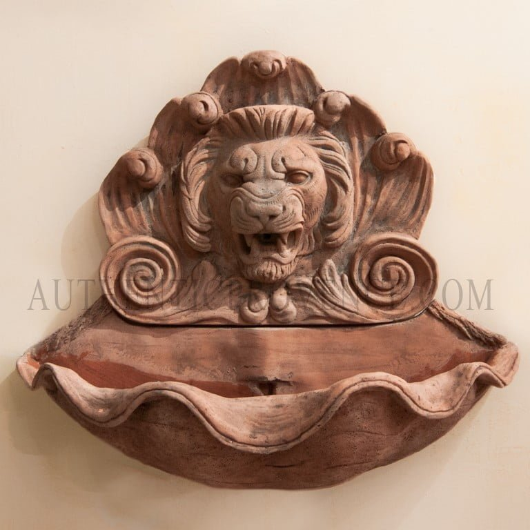 Lion Scroll Fountain