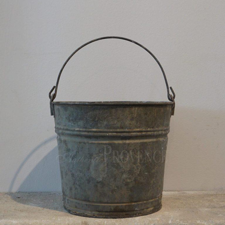 Antique Galvanized Bucket