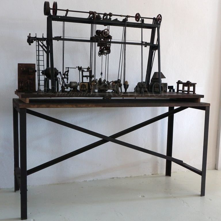 Miniature Model of a Machinery Assembly Line