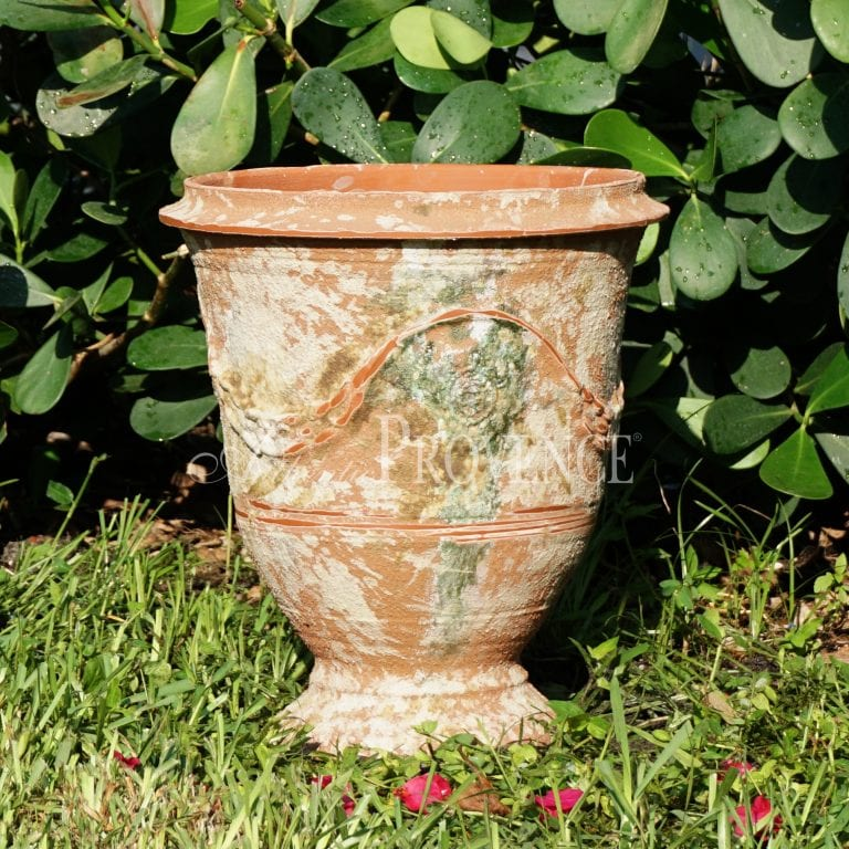 Antiqued Anduze Urn