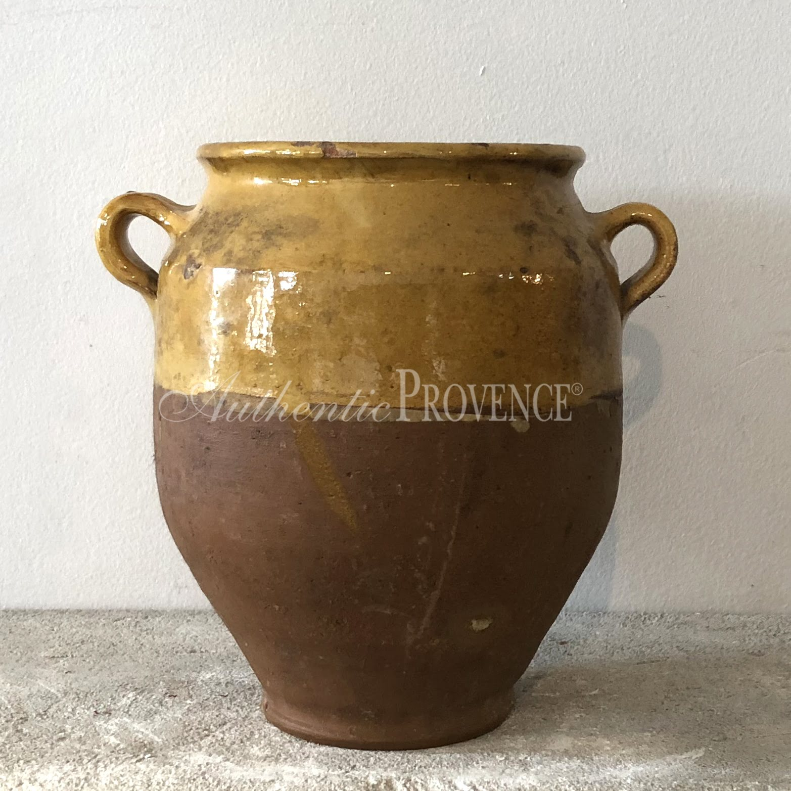 French Provencal Confit Pot