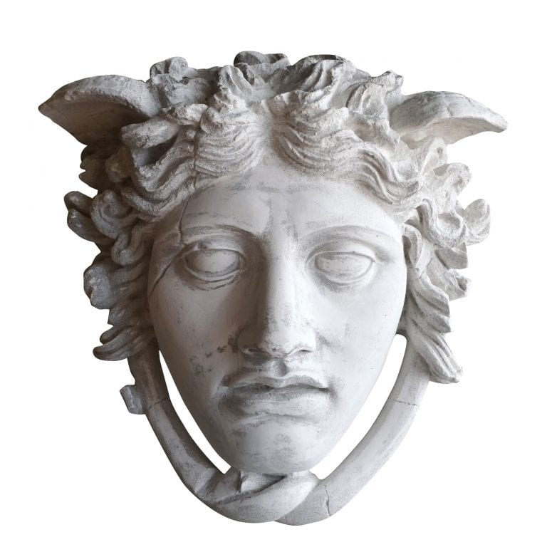 Roman God Mercury Mask