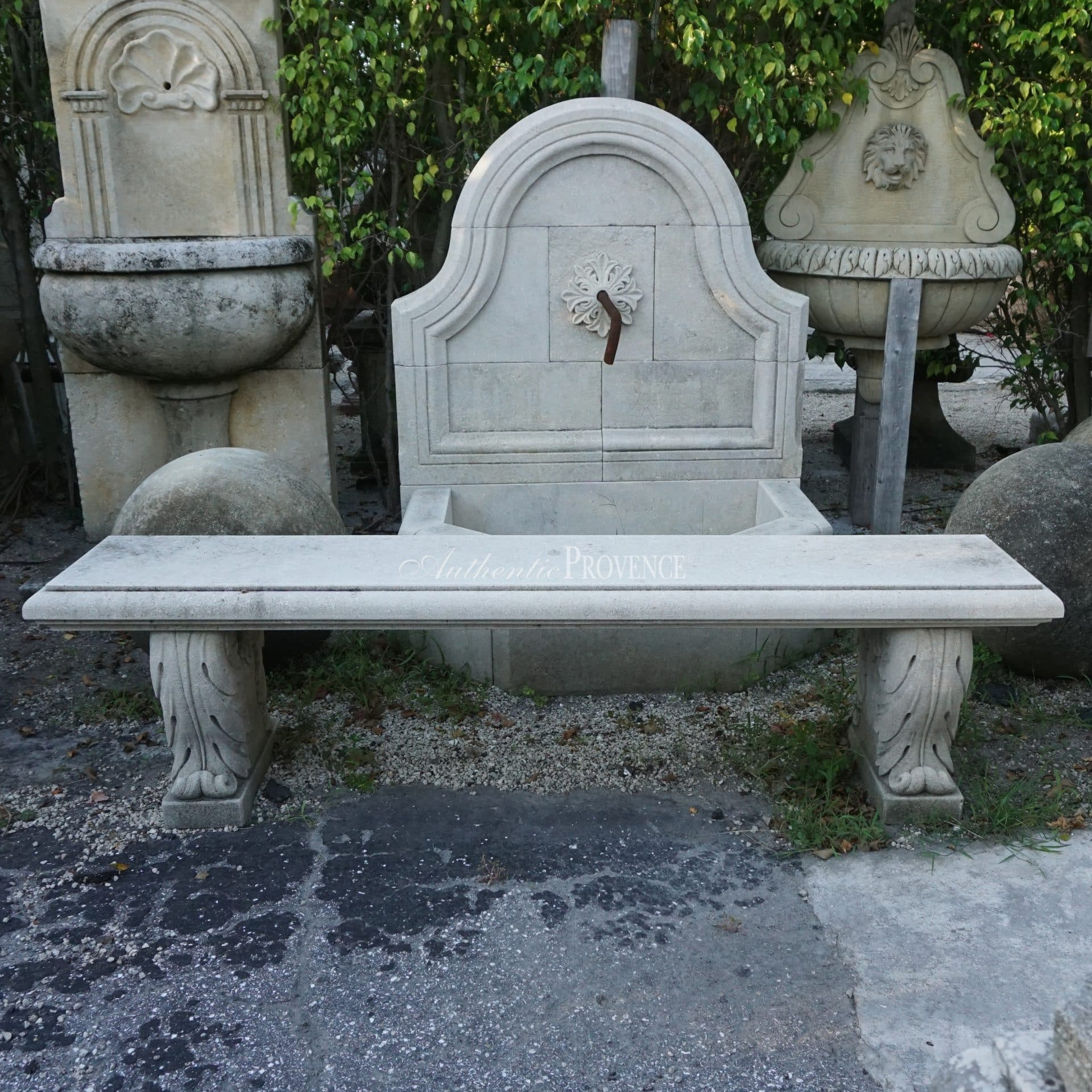 Pair of St. Lyr Benches