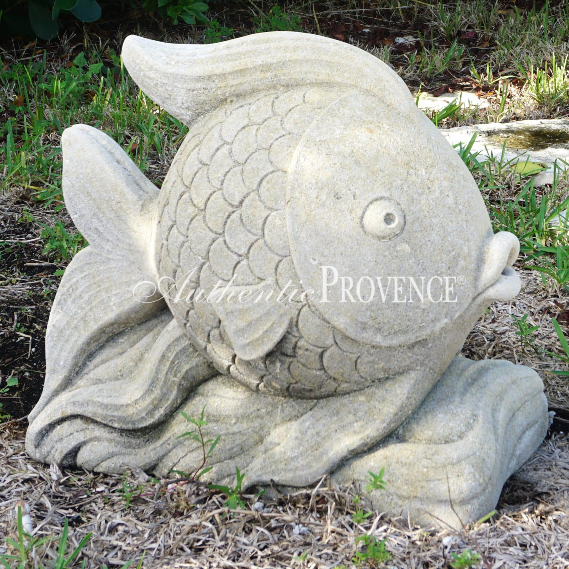 20th Century Hand Carved Blowfish
