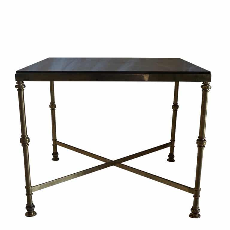 20th Century French Brass Side Table in the Style of Maison Jansen