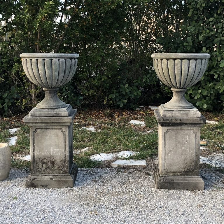 Pair of Renaissance Style Urns