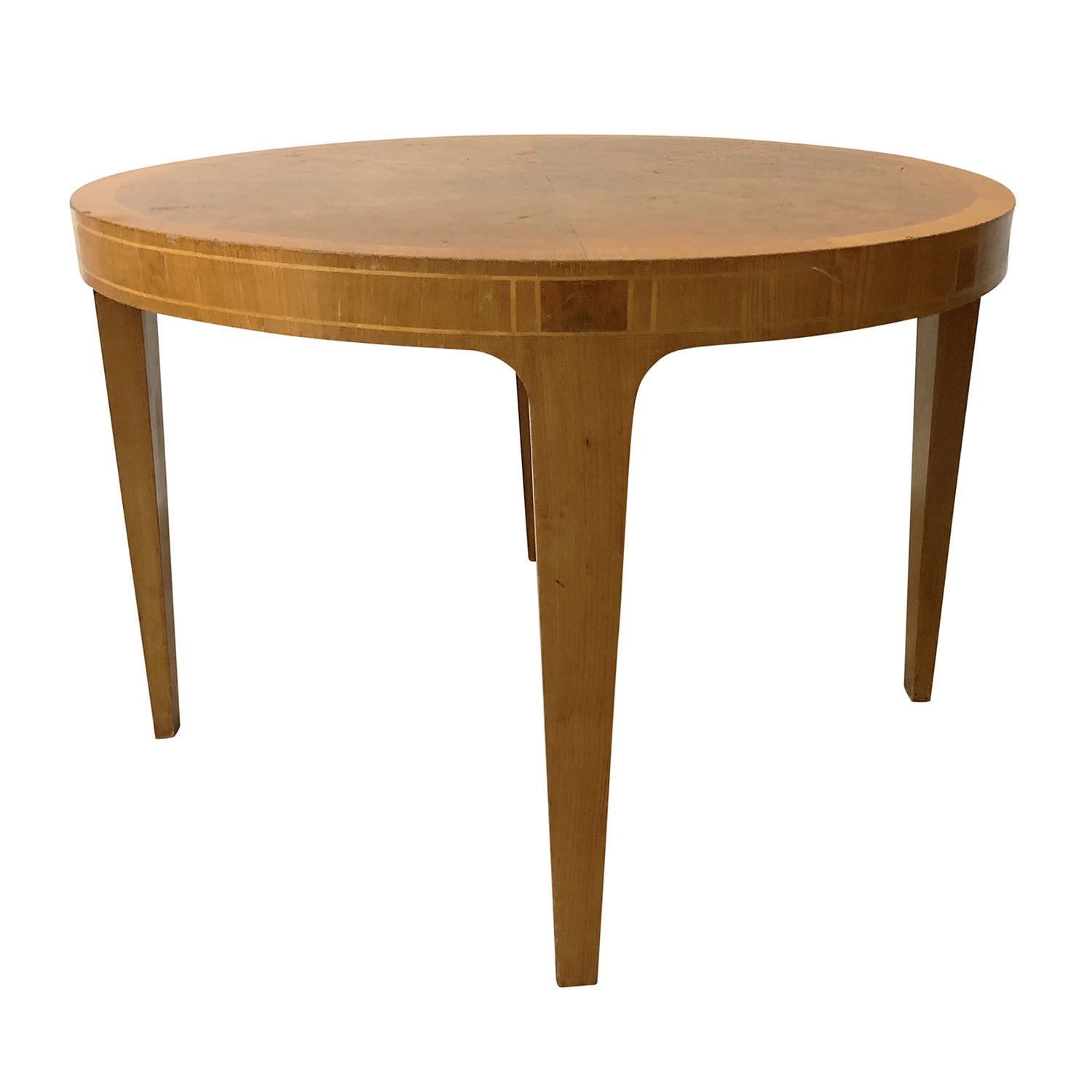 20th Century Round Swedish Freja Table – Maplewood Coffee Table