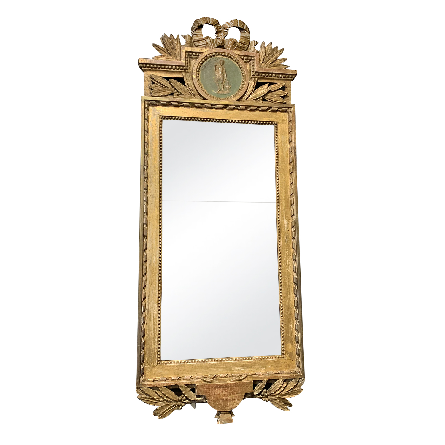 18th Century Swedish Gustavian Wall Mirror
