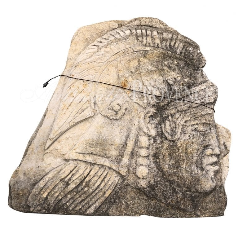 Byzantine Warrior Relief