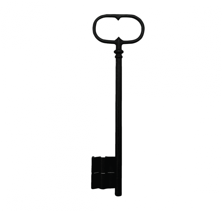 Oversized French Key