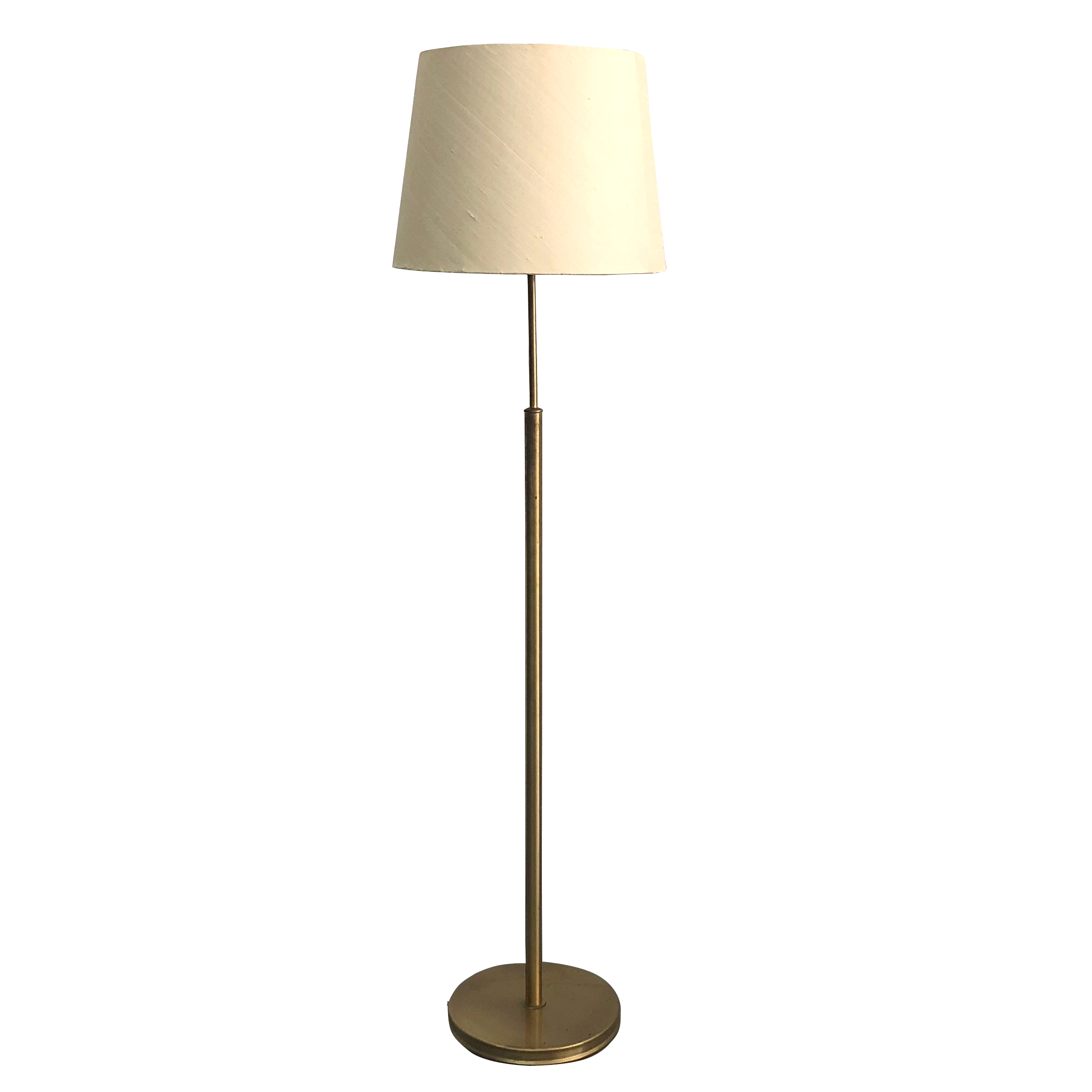 20th Century Model 2148, Swedish Svenskt Tenn Brass Floor Lamp by Josef Frank