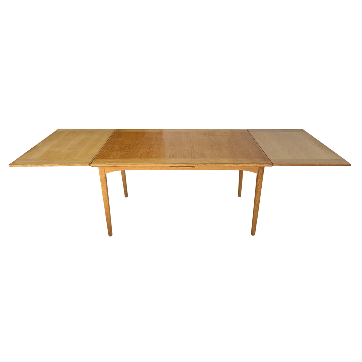 20th Century Light-Brown Swedish Extendable Walnut Dining Table by Carl Malmsten