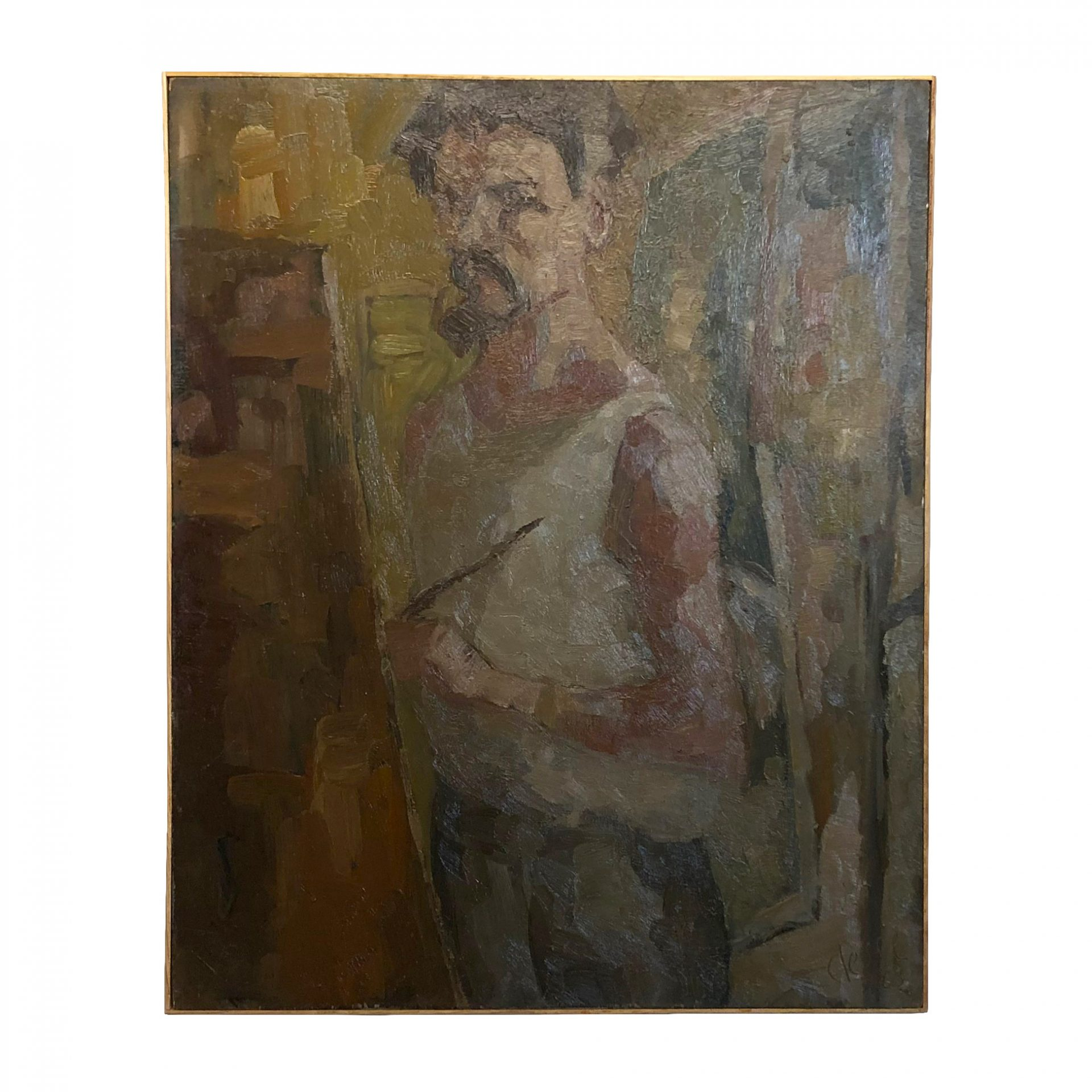 20th Century French Painting, Self-Portrait of Daniel Clesse