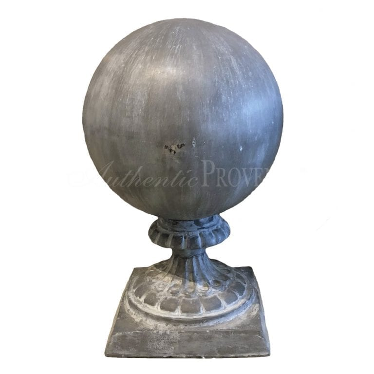Ornate Lead Finial