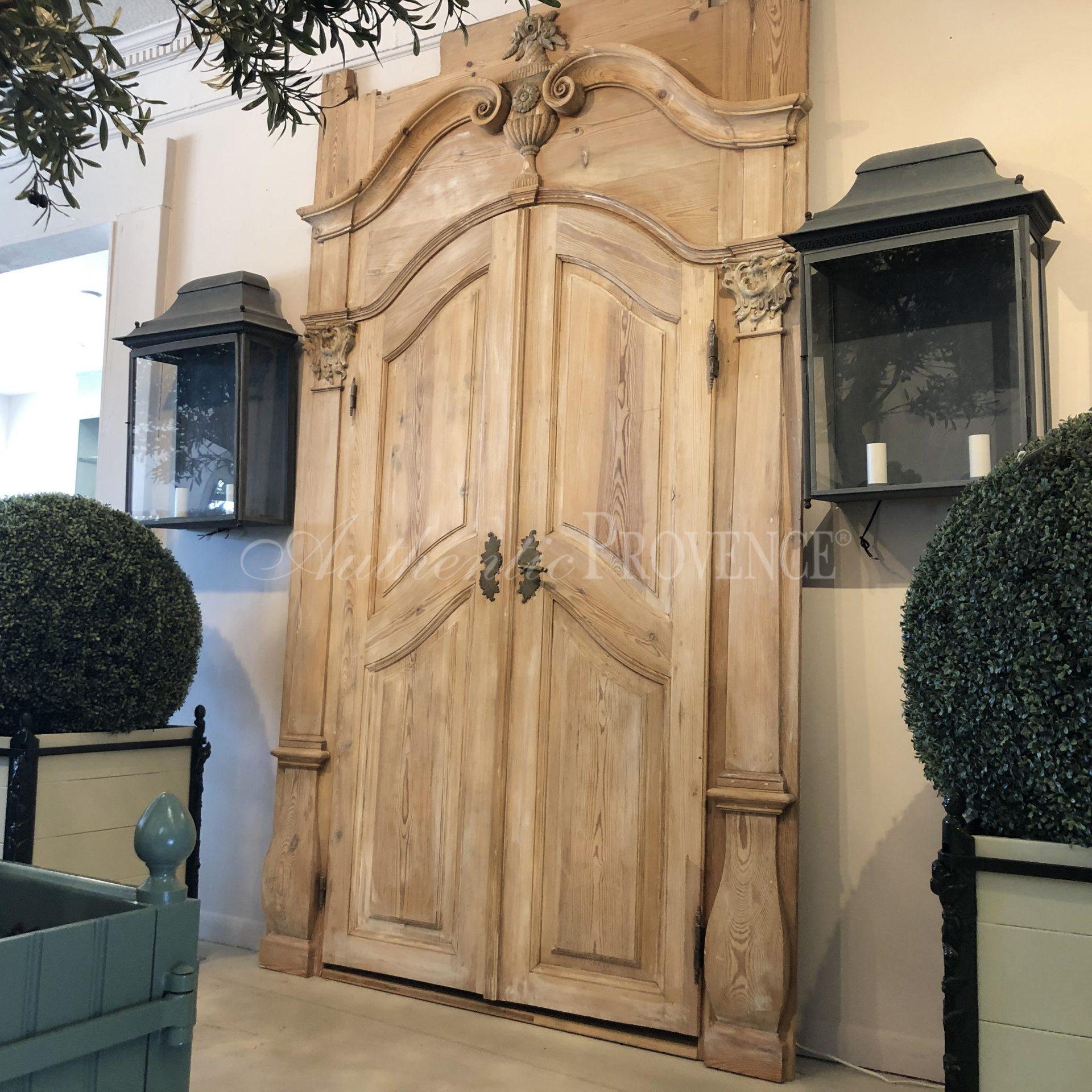 Baroque Entrance Door