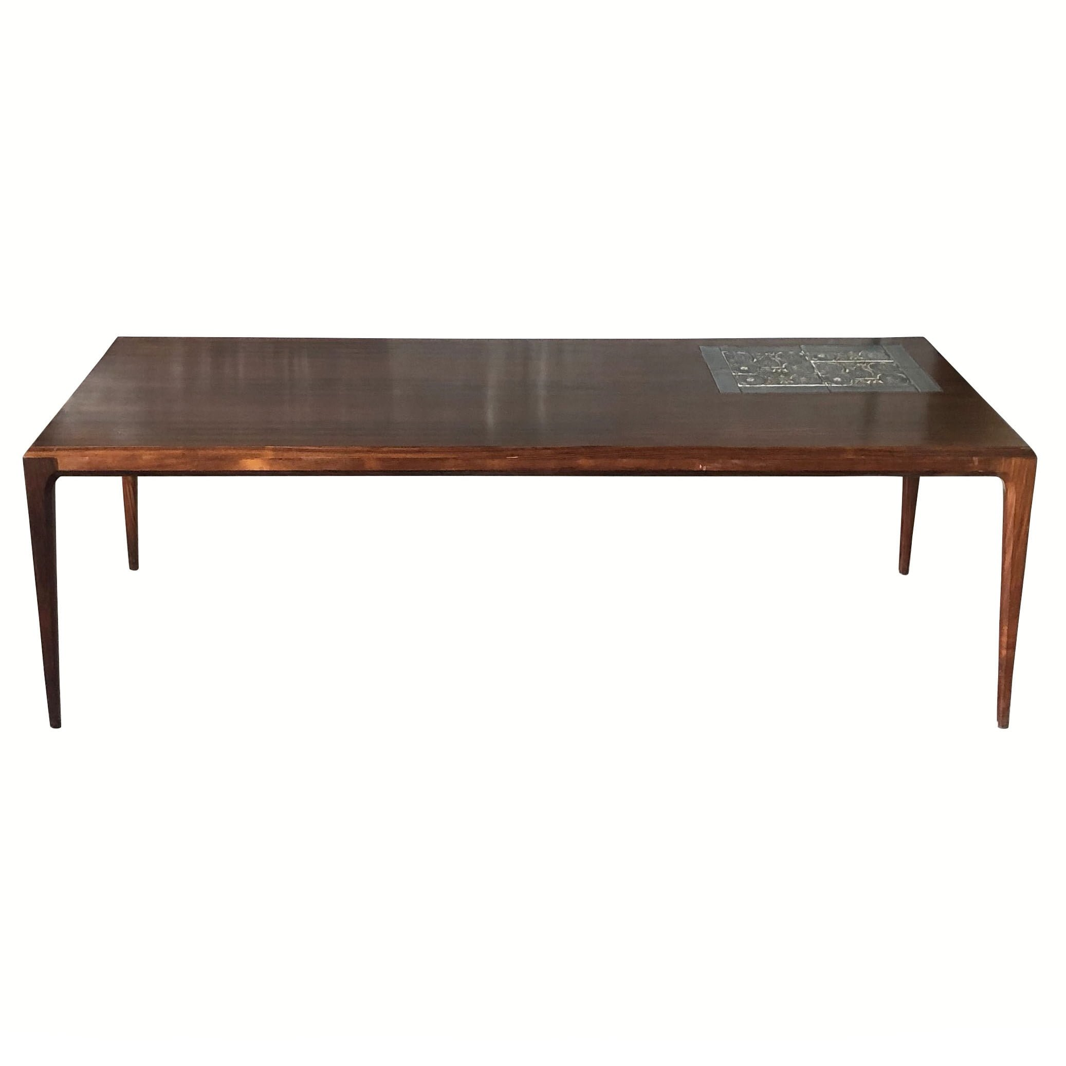 20th Century Danish Rosewood Coffee Table by Severin Hansen & Nils Thorsson