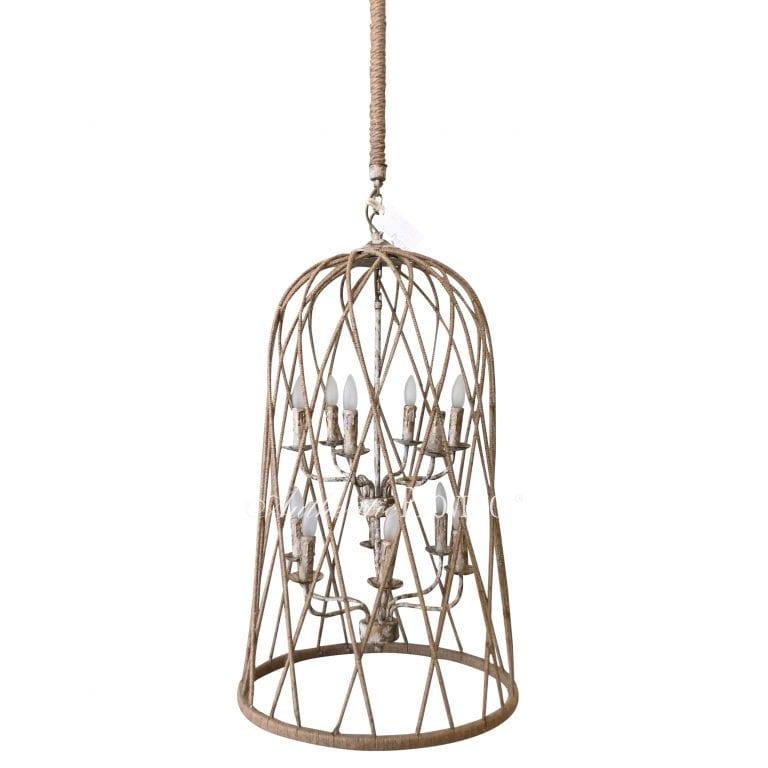 Chandelier Cage d'Oiseau