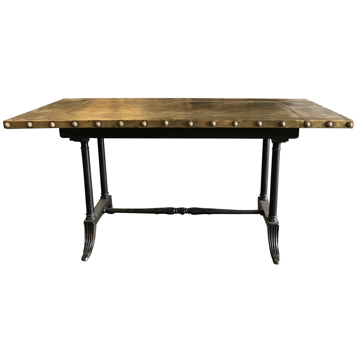 20th Century Belgian Copper Eugenie Table