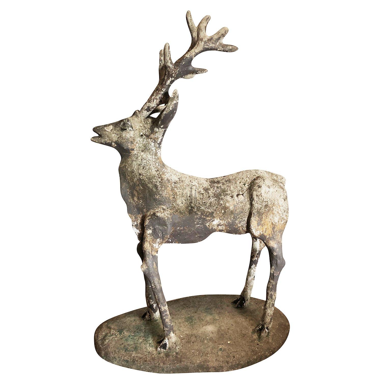 Cerf Statue 1860