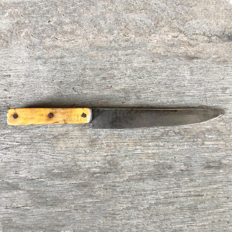 Couteau de Boucher 1920