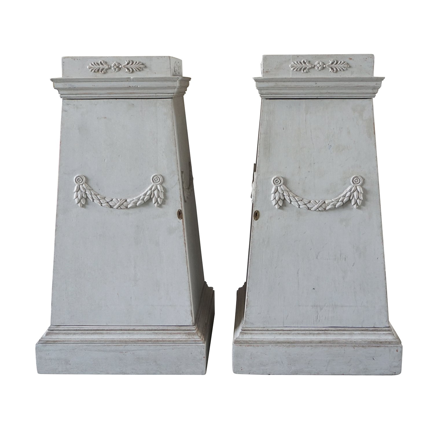 Pair of Gustavian Pedestals