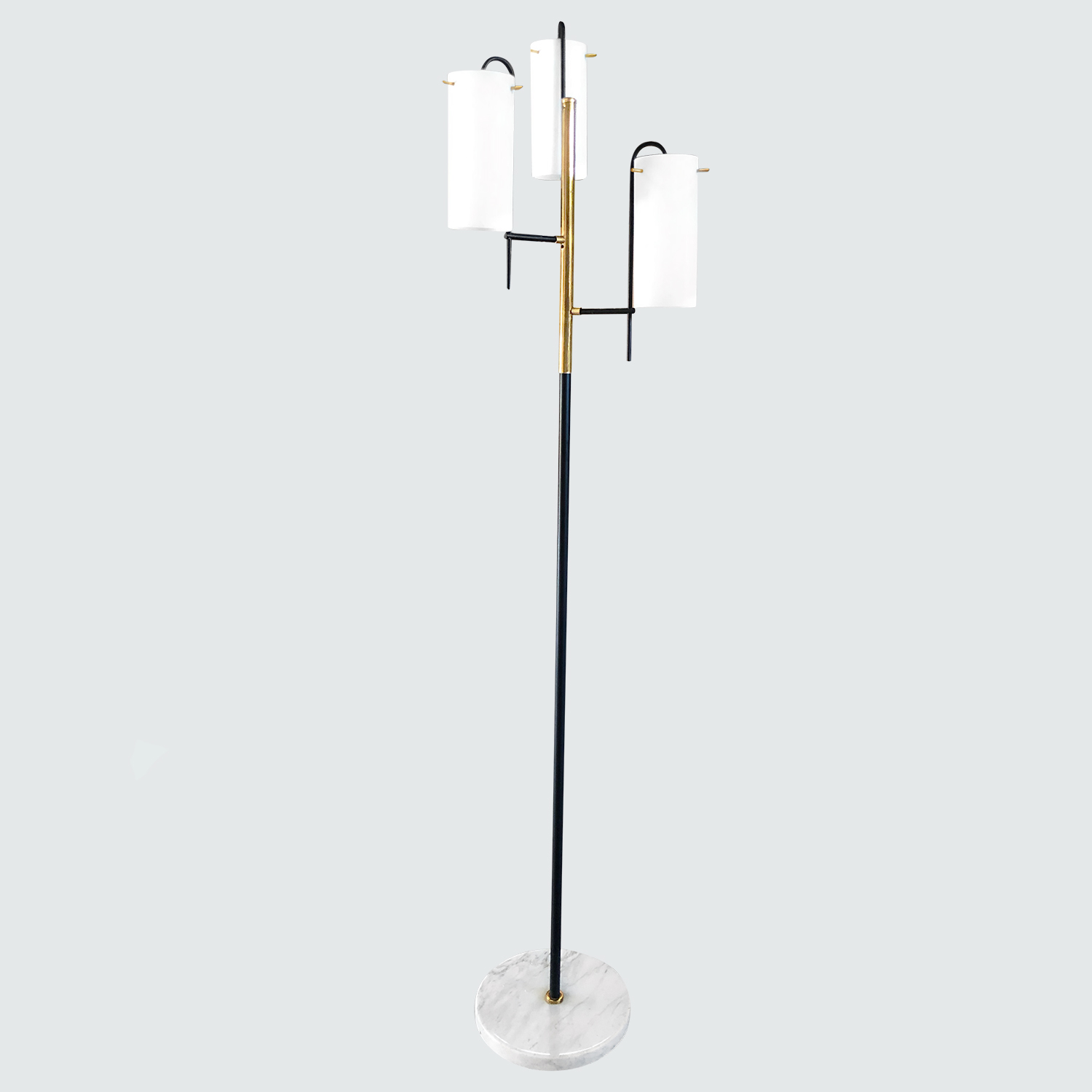 20th Century Italian Bass Floor Lamp by Stilnovo