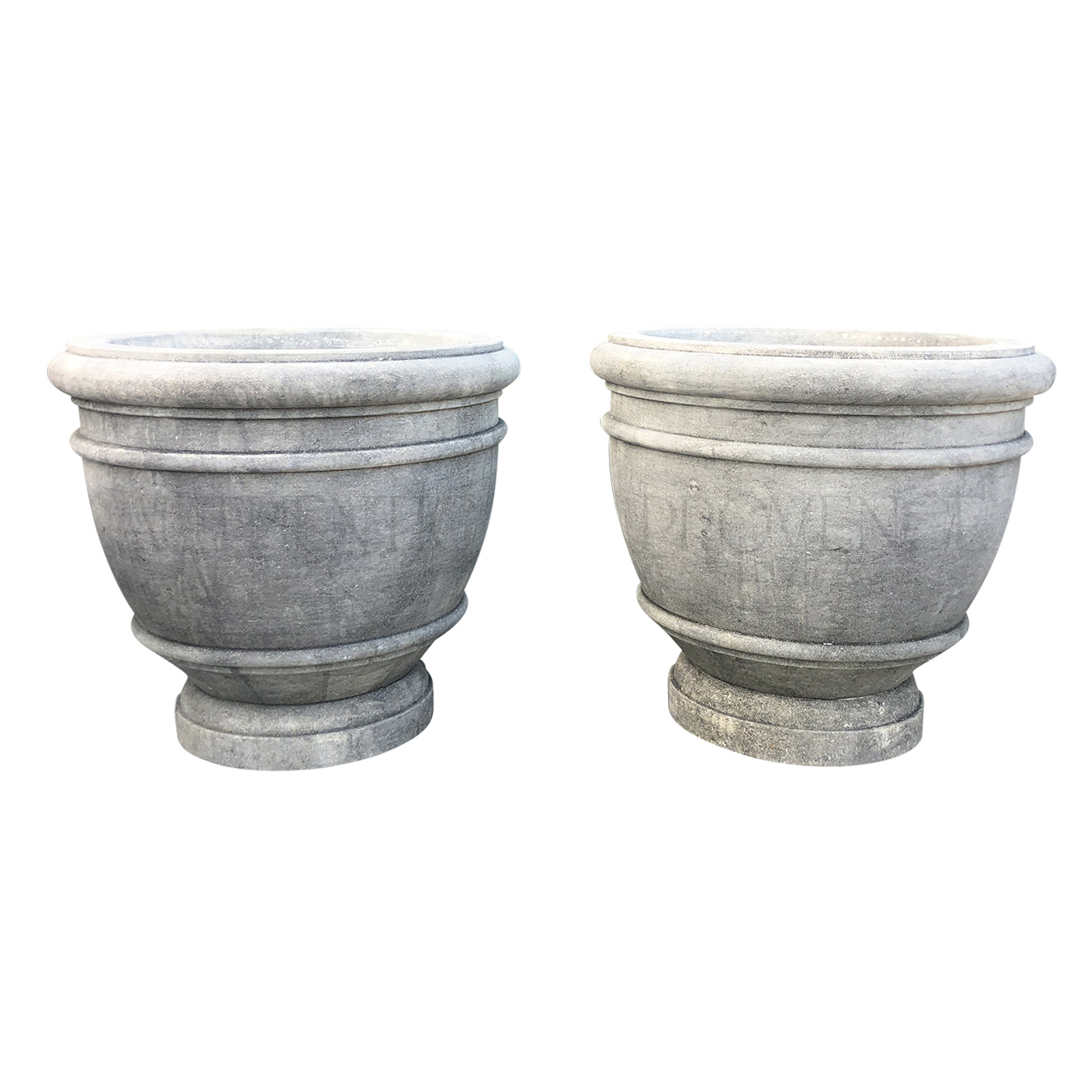 Pair of Conche Urns