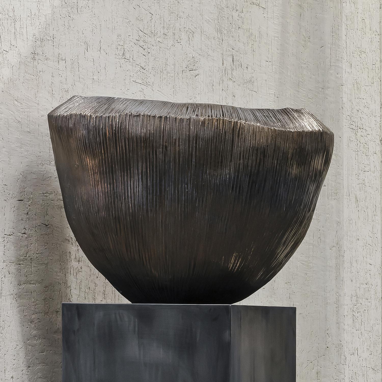 Pair of Nour Pots Bronze
