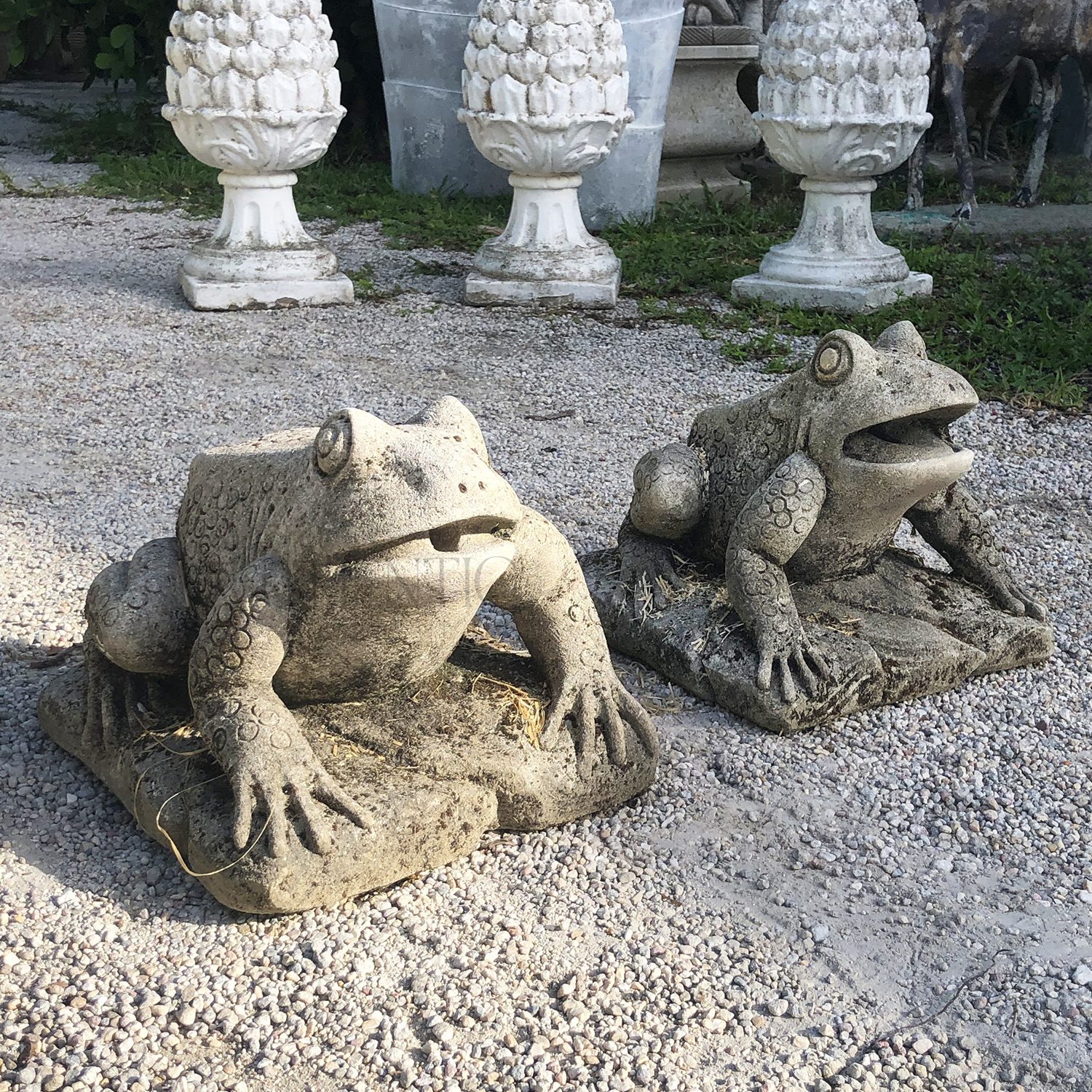 Pair of Vintage Frogs