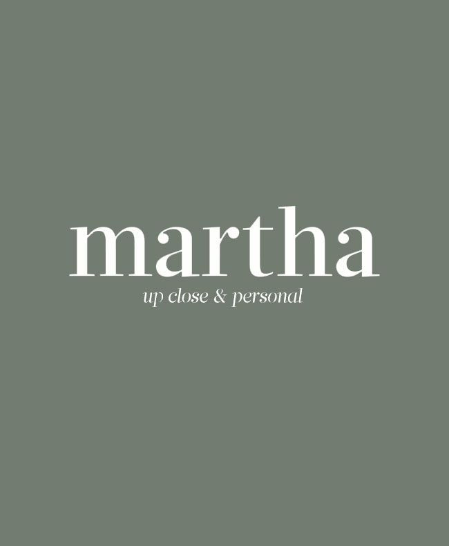 The Martha Blog