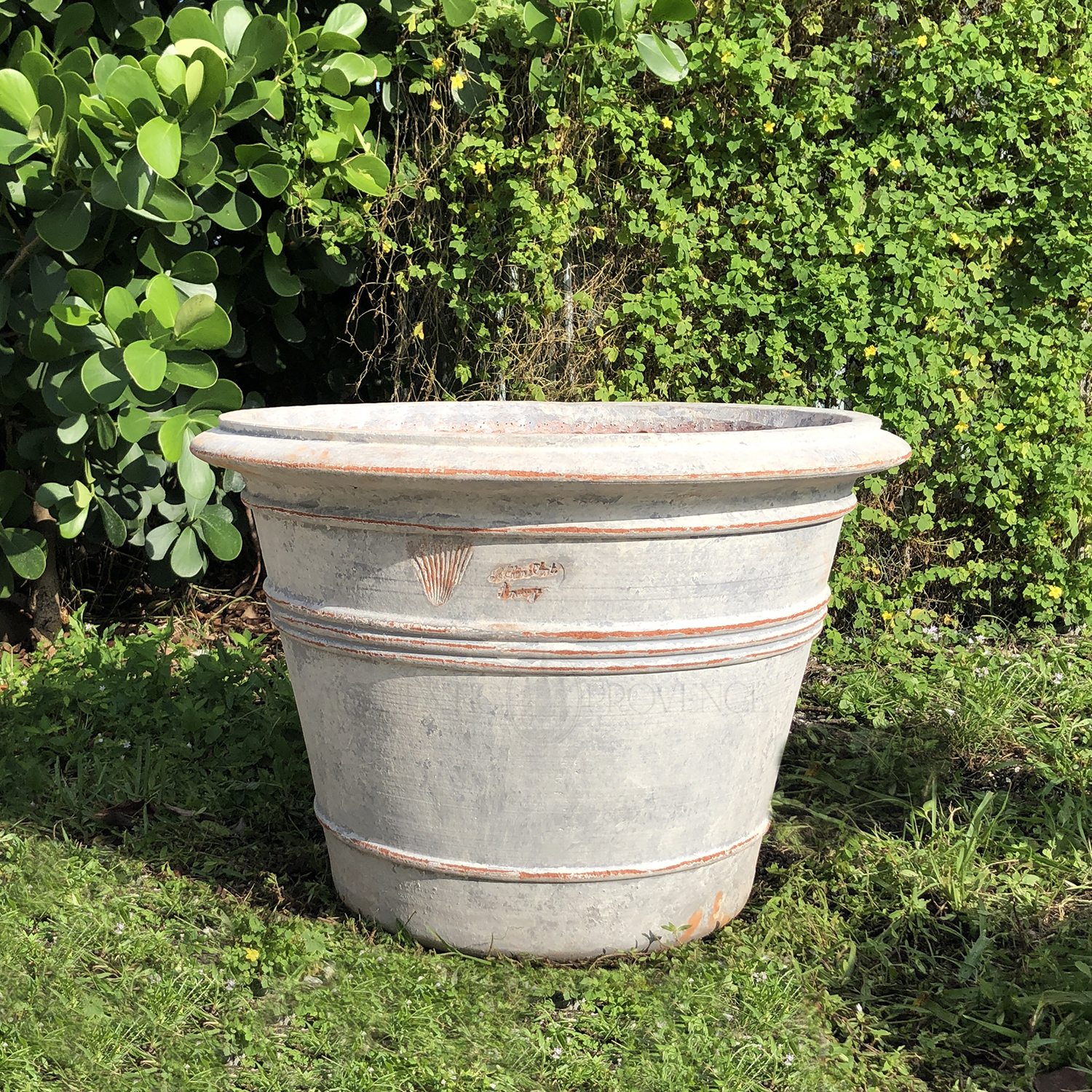 Pair of Pots Antica Gris