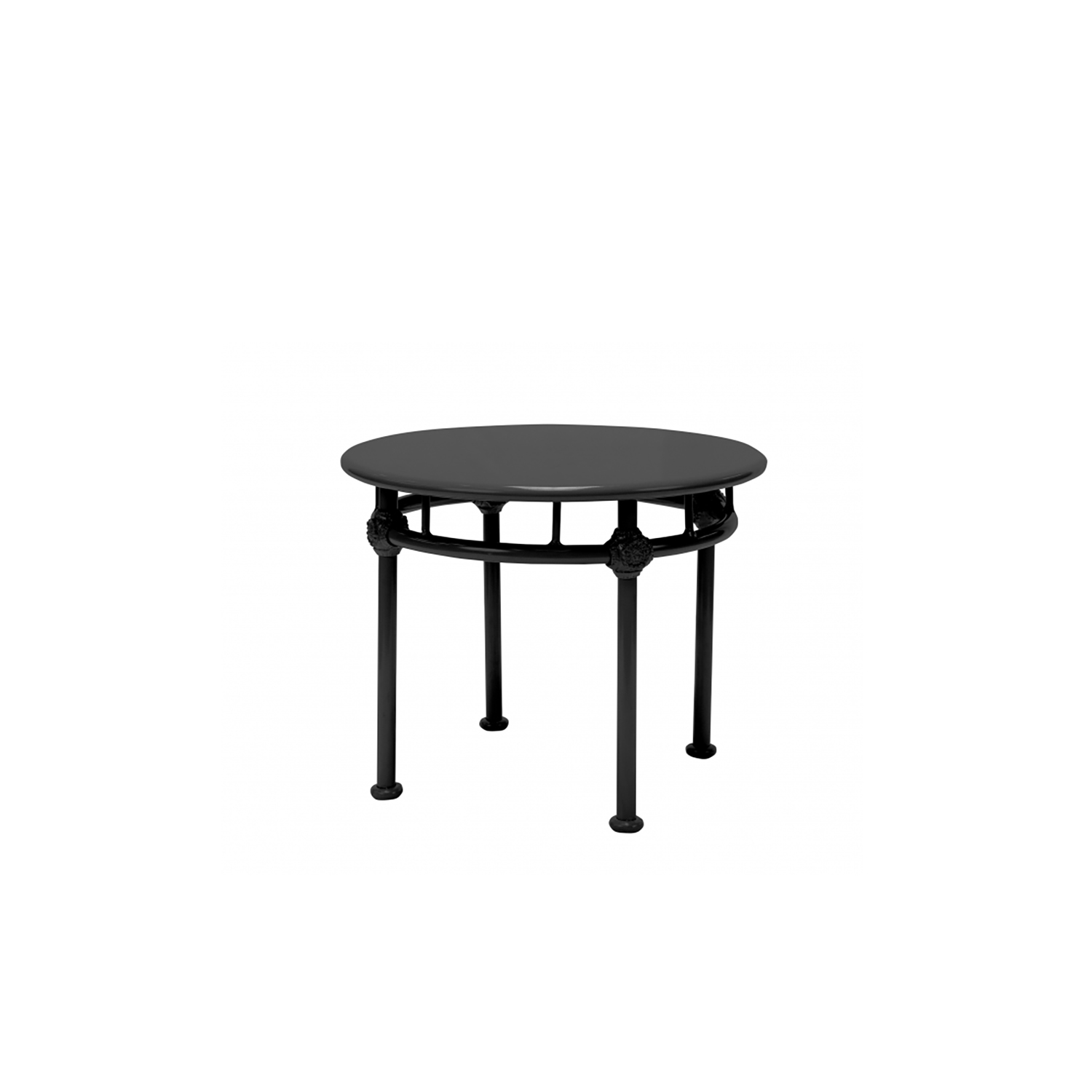 Round Low Table Lucie 19″H