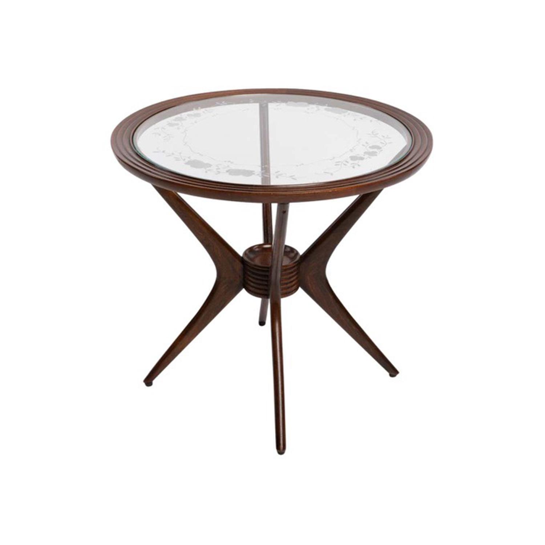 20th Century Italian Coffee Table – Rosewood Sofa, Side Table by Paolo Buffa