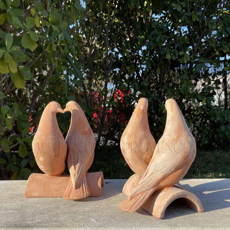 Pair of Doves Tile
