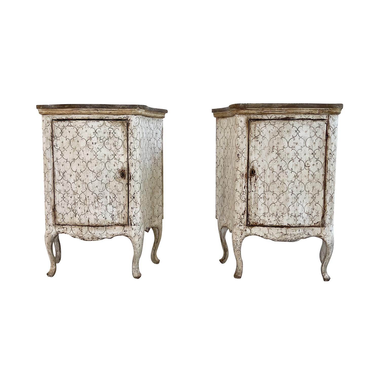 Pair of Louis XIV Cabinets Arte Povera
