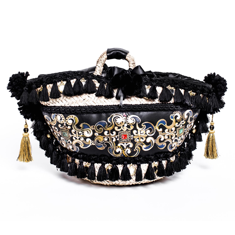 Handmade Couture Bag: Coffa Manico Corto – Toson D'Oro