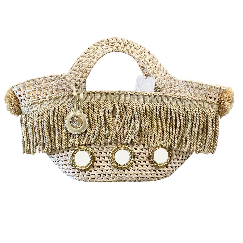 Handmade Italian Couture Bag: Coffa Mare – Beatrice