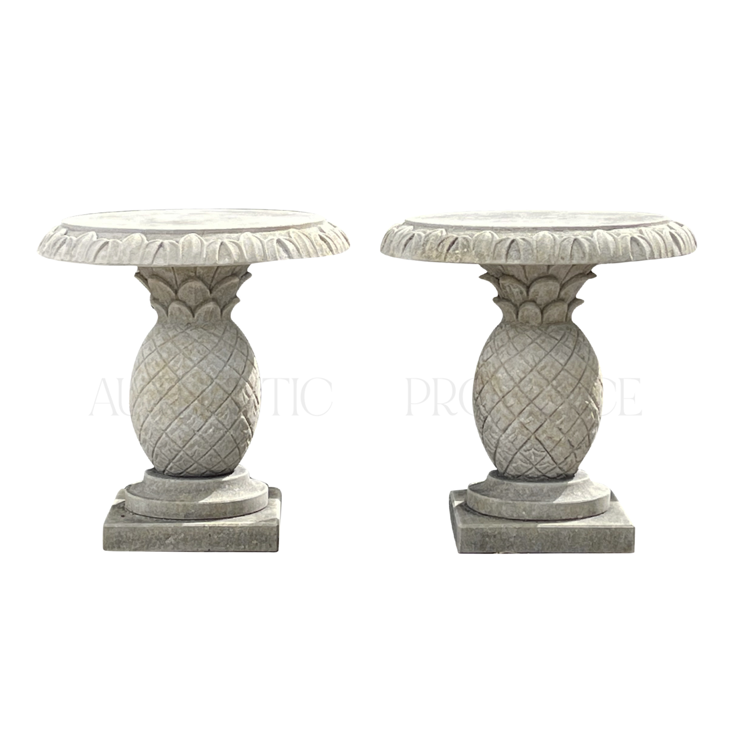 Pair of Pineapple Tables