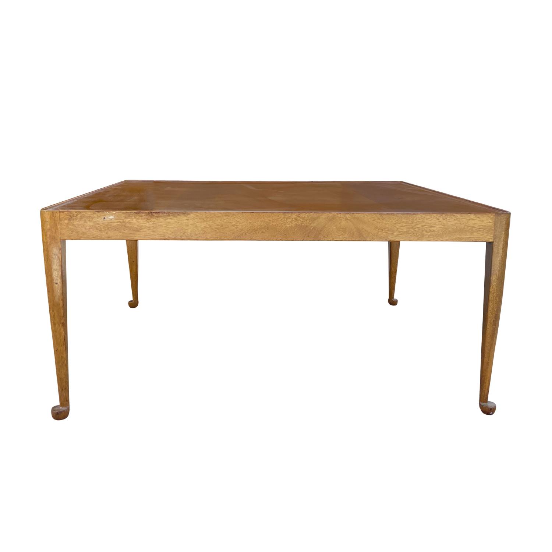 20th Century Swedish Svenskt Tenn Sofa, Side Table – Diplomat by Josef Frank