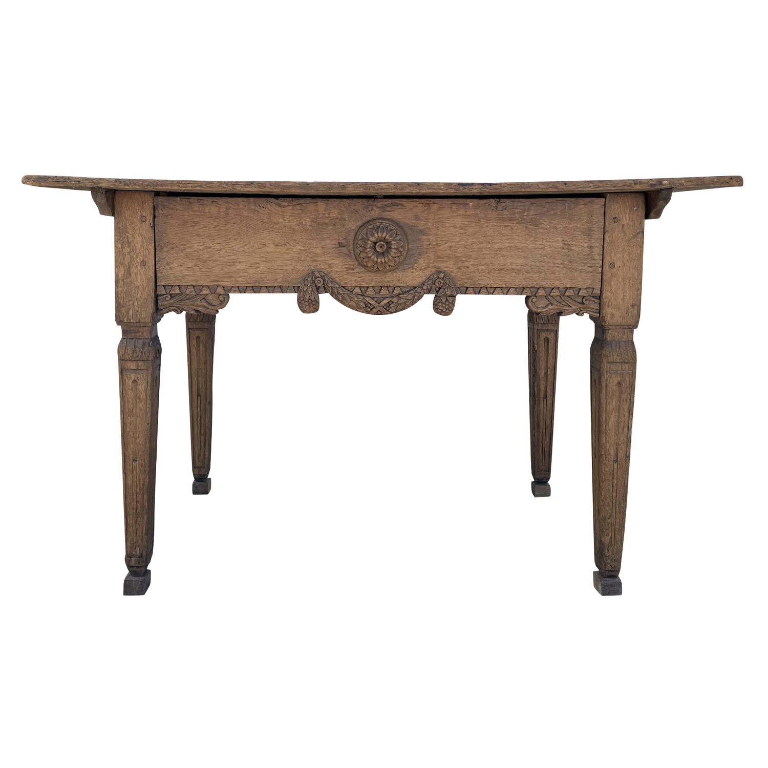 18th Century Dark-Brown French Régence Console Table – Oakwood Farm, End Table